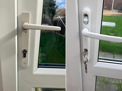 upvc door handle repair and replacement Stockport